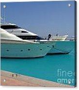 Luxury Yachts 04 Acrylic Print