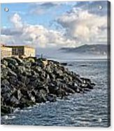 Lyme Regis - View Towards Charmouth Acrylic Print