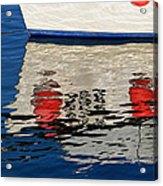 Lyme Regis Harbour - December Acrylic Print