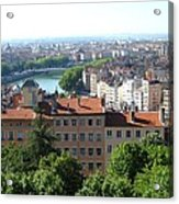 Lyon From Above Acrylic Print