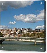 Lyon View Acrylic Print