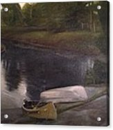 Lyons Falls  - Moose River Acrylic Print
