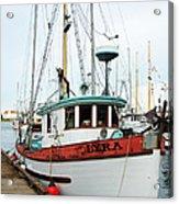 Lyra --------victoria Acrylic Print by Don F  Bradford
