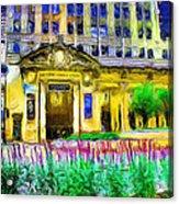 Lyric Opera House Of Chicago Acrylic Print