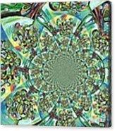 Lyrical Tree Mandela Acrylic Print