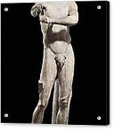 Lysippus C. 370-318 Bc. Apoxyomenos Acrylic Print by Everett