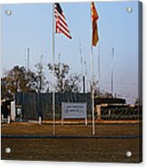 Lz Oasis 3d Brigade None Better Headquarters 4th Infantry Division Vietnam  1969 Acrylic Print