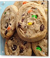 M And M - Chocolate Chip - Cookies - Bakery Shop Acrylic Print