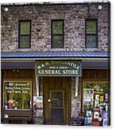 M And M Mercantile Acrylic Print