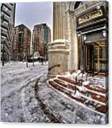M And T Bank Downtown Buffalo Ny 2014 Acrylic Print