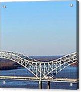 M Bridge Memphis Tennessee Acrylic Print