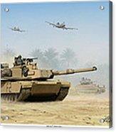 M1a2 Abrams Acrylic Print