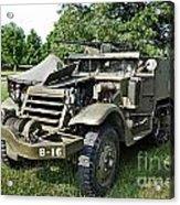M3 Half-track Acrylic Print
