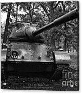 M47 Patton Tank Acrylic Print