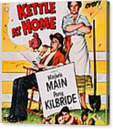 Ma And Pa Kettle At Home, Us Poster Acrylic Print