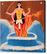 Ma Bharati Acrylic Print