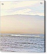 Maalaea Morning Surf Acrylic Print
