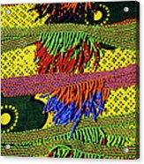 Maasai Beadwork Acrylic Print