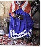 Maasai Woman Acrylic Print
