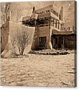 Mabel's Place In Platinum Acrylic Print