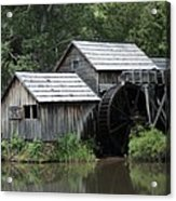 Mabry Mill - Blue Ridge Mountains Acrylic Print