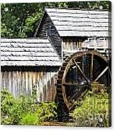 Mabry Mill Close Up Acrylic Print