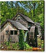 Mabry Mill Acrylic Print by Heather Allen