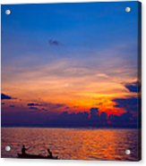 Mabul Island Sunset Borneo Malaysia Acrylic Print