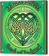 Macaleese Soul Of Ireland Acrylic Print