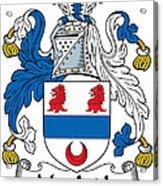 Macardle Coat Of Arms Irish Acrylic Print