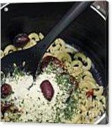 Macaroni And Ingredients Acrylic Print