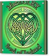 Macauley Soul Of Ireland Acrylic Print