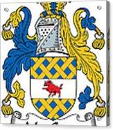 Maccann Coat Of Arms Irish Acrylic Print
