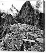 Macchu Picchu Acrylic Print