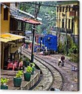 Macchu Picchu Town - Peru Acrylic Print