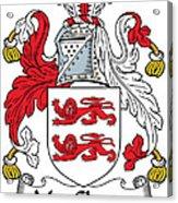 Macclancy Coat Of Arms Irish Acrylic Print