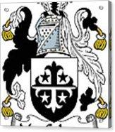Maccolman Coat Of Arms Irish Acrylic Print