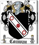 Macconway Coat Of Arms Irish Acrylic Print