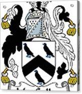 Maccullen Coat Of Arms Irish Acrylic Print