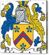 Maccusker Coat Of Arms Irish Acrylic Print