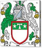 Macdrury Coat Of Arms Irish Acrylic Print