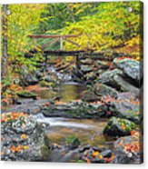 Macedonia Brook Square Acrylic Print