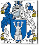 Macelligott Coat Of Arms Irish Acrylic Print