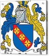 Macfadyen Coat Of Arms II Irish Acrylic Print