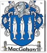Macgahan Coat Of Arms Irish Acrylic Print