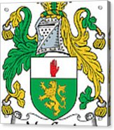 Macgenis Coat Of Arms Irish Acrylic Print