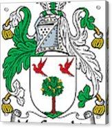 Macgeraghty Coat Of Arms Irish Acrylic Print