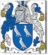 Macgill Coat Of Arms Ulster Ireland Acrylic Print