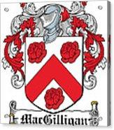 Macgilligan Coat Of Arms Irish Acrylic Print