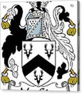 Macgirr Coat Of Arms Irish Acrylic Print